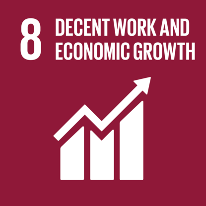 decent work economic growth
