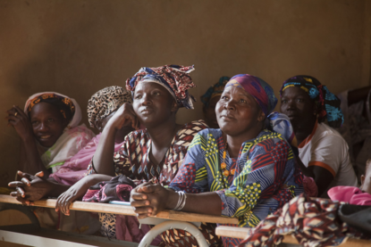 Women farmers in Burkina Faso